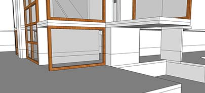 cut line in sketchup
