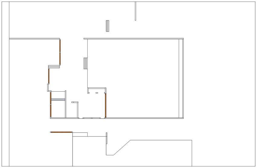 floor plan view in sketchup