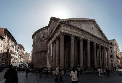 Pantheon exterior view
