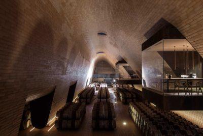Antinori Cellars wine storage