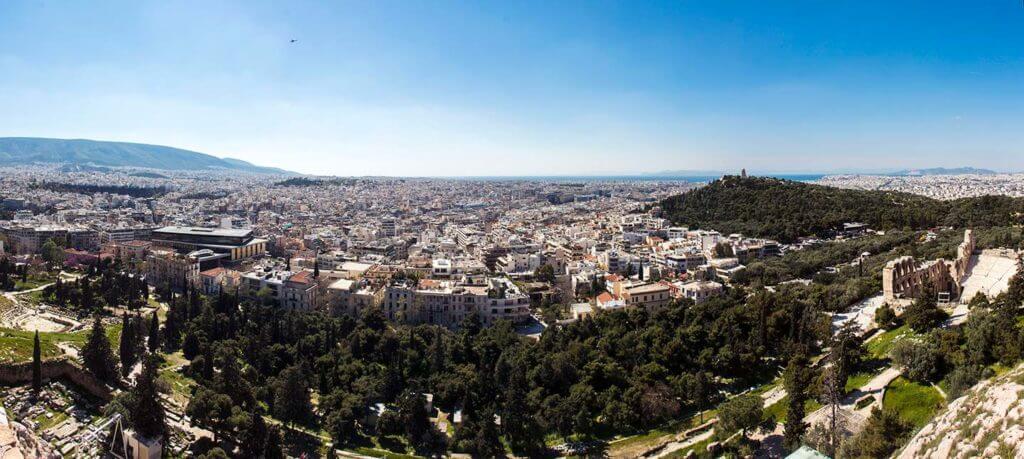 south acropolis panorama