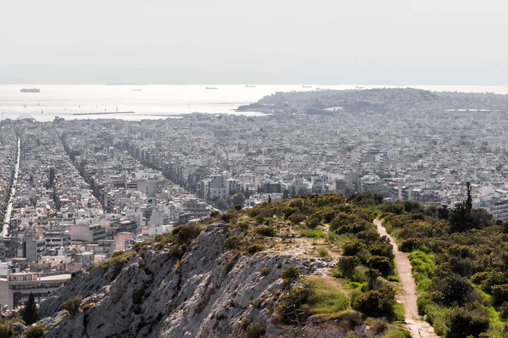 hike on Filopapou Hill