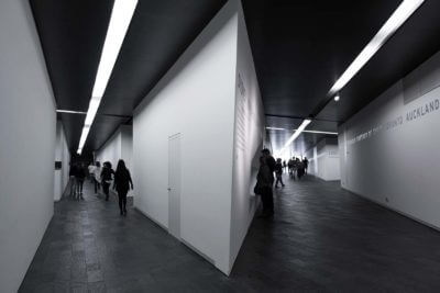 hallway of the Jewish Museum