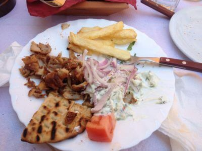 pita dish for lunch