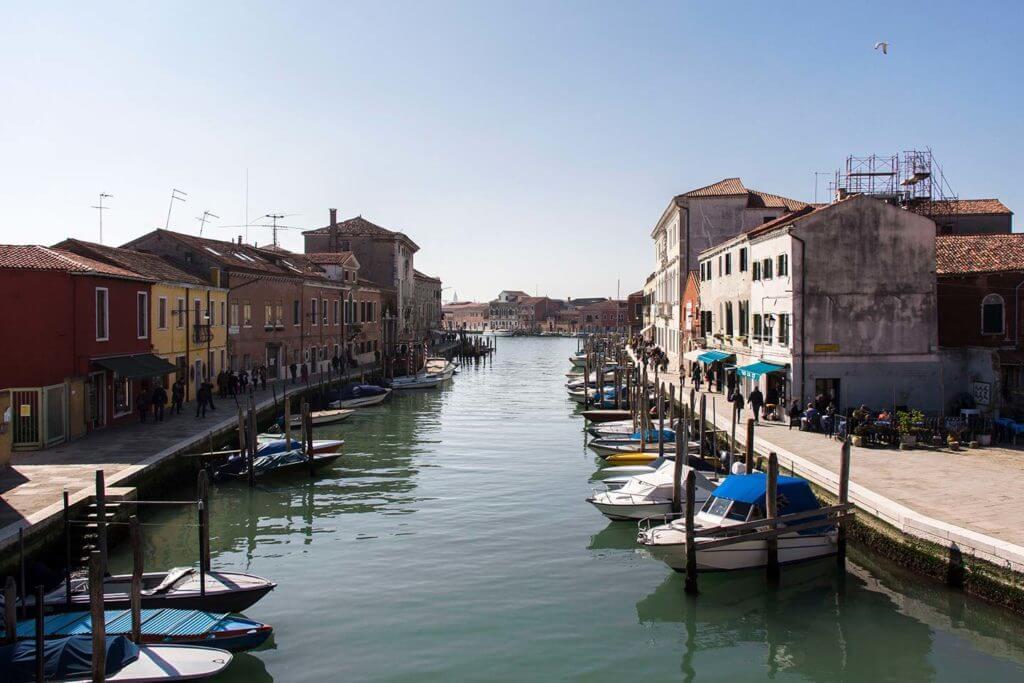 waterways of Murano
