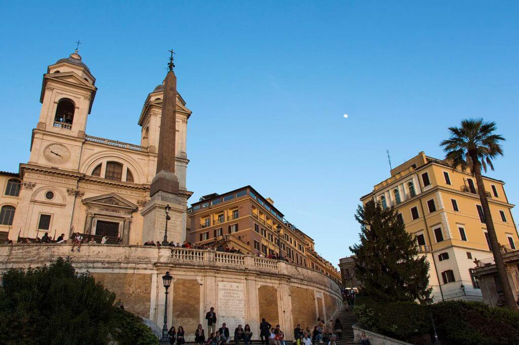 Spanish Steps in rome