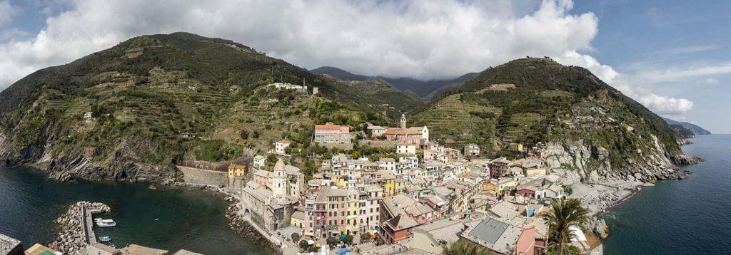 panorama of Vernazza