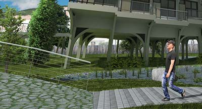 Enhancing Architectural Renderings with Photoshop