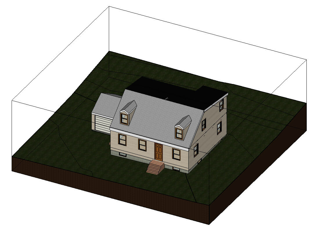 3d view in revit