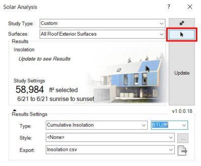 revit solar analysis settings