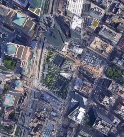 google earth default field of view