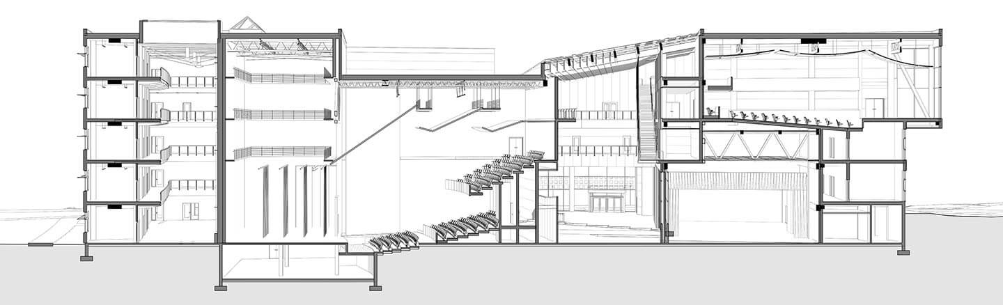 Drawing Lines In Revit : Creating a perspective section in revit dylan brown designs