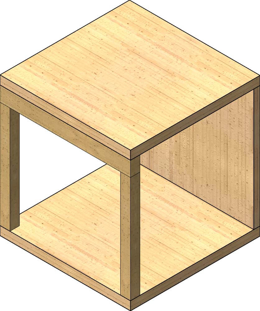 CLT and Glulam Seamless Textures - Revit Compatible - Dylan