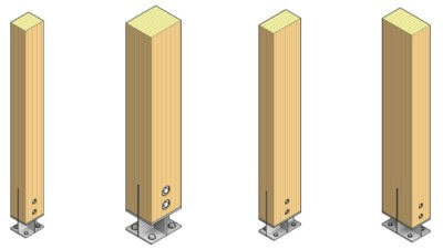 parametric knife plate column sizes